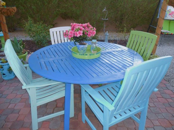 outside tray, crafts, how to, outdoor living, painting