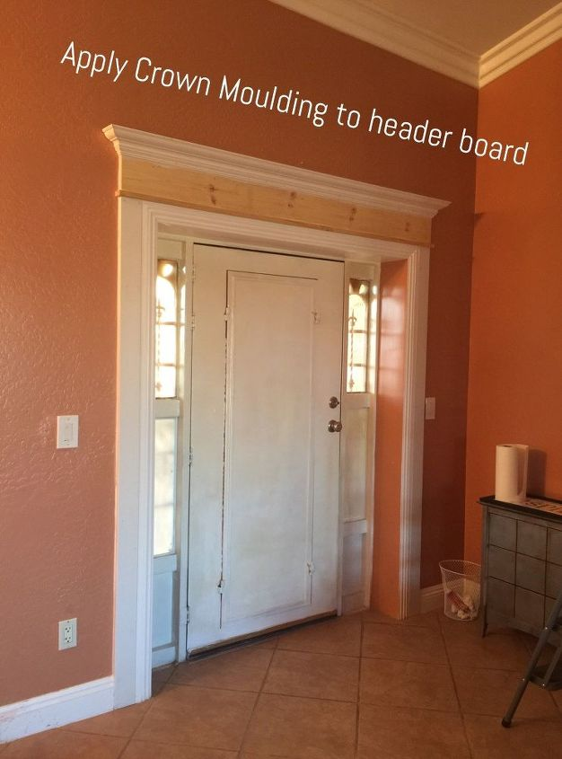 Do THIS to your front door to make it look so much better ...