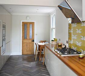 diy splashback with wallpaper kitchen backsplash kitchen design wall decor
