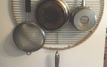 Store Pots and Pans on a Grill Grate