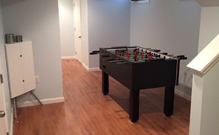 from old and drab to new and fab in newton ma, basement ideas, flooring, home decor, home improvement