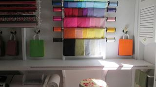 , my crafting station with easy how to build located on my blog