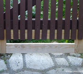 Easy Rustic Garden Gate Made With a Piece of Fence Hometalk