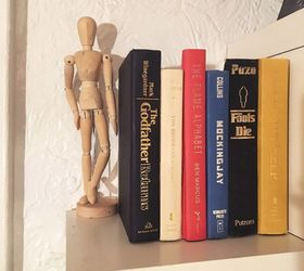 secret storage book box repurposing upcycling shelving ideas storage ideas & Craft a Secret Storage Book Box | Hometalk