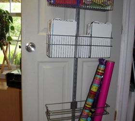 how to create a over the door wrapping paper station doors how to & How to Create a Over-the-Door Wrapping Paper Station   Hometalk