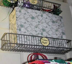 How To Create A Over The Door Wrapping Paper Station, Doors, How To, ...