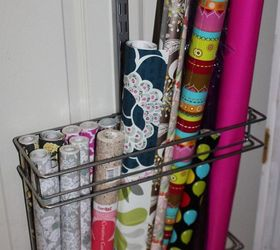 how to create a over the door wrapping paper station doors how to & How to Create a Over-the-Door Wrapping Paper Station | Hometalk