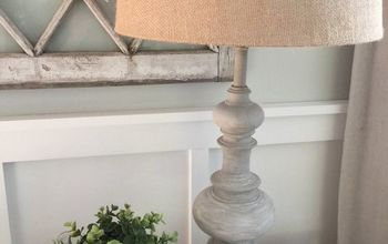 DIY Restoration Hardware Inspired Lamp Makeover