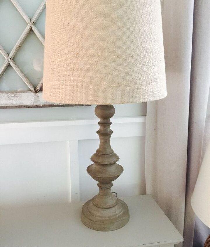 diy restoration hardware inspired lamp makeover, lighting, painted furniture