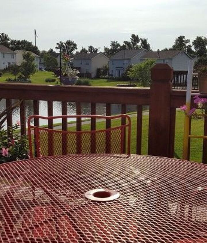 after garden deck patio decor, container gardening, crafts, decks, gardening, outdoor living, patio, repurposing upcycling