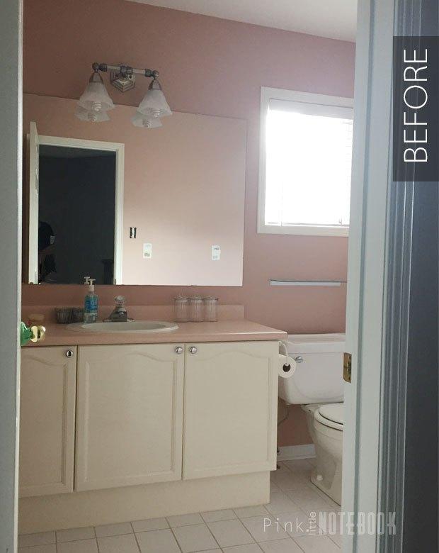 updating an old bathroom vanity   hometalk