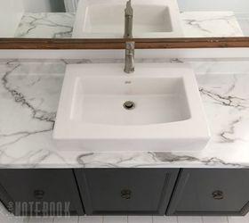 Updating An Old Bathroom Vanity, Bathroom Ideas, Painting