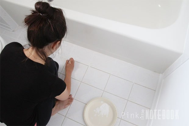 how to freshen up your grout lines for 2 or less , cleaning tips, how to, tiling