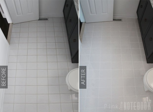 How To Freshen Up Your Grout Lines For Or Less Hometalk - Cleaning white grout lines