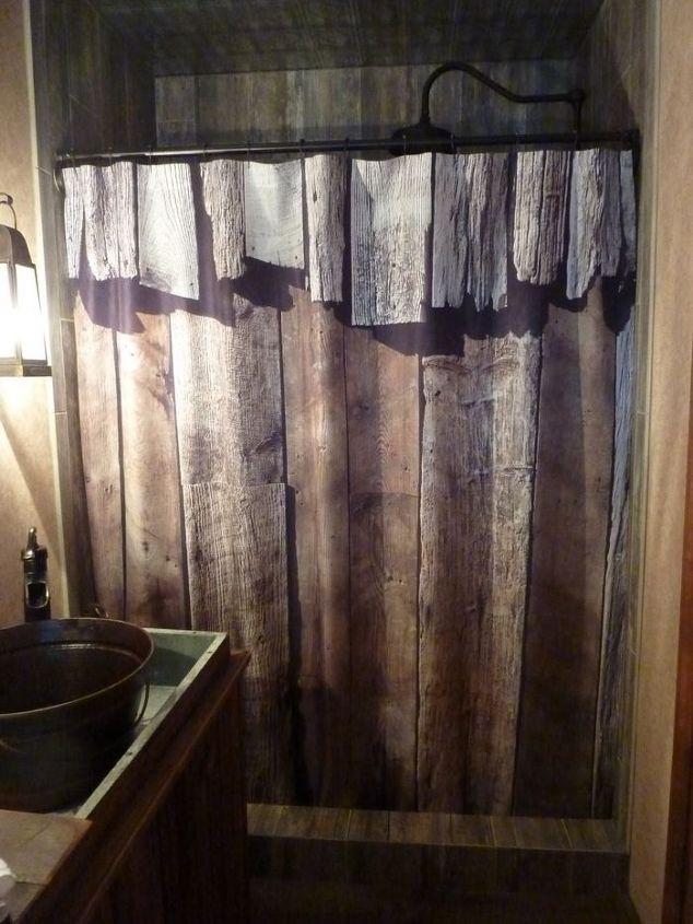 Master Bathroom Transformed With Reclaimed Wood Tile | Hometalk
