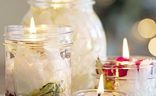 how to make oil lantern candles, crafts, how to, outdoor living