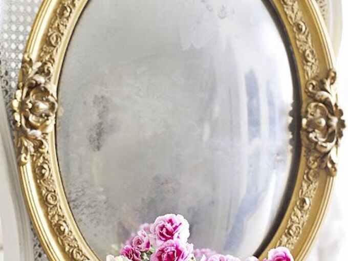 make a mirror from a picture frame, crafts, how to, painted furniture, repurposing upcycling, wall decor