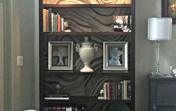 Bookcase Makeover Part 2