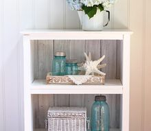 reclaimed wood bookcase, crafts, painted furniture, repurposing upcycling