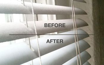 Clean Your Blinds With Tongs & Chopsticks!