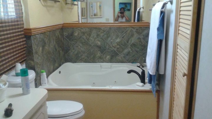 q what can i do with this ugly garden tub , bathroom ideas, home decor, home decor dilemma
