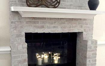 80's Fireplace Update - by Leslie Stocker
