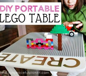 Transform It Into A Portable Lego Table