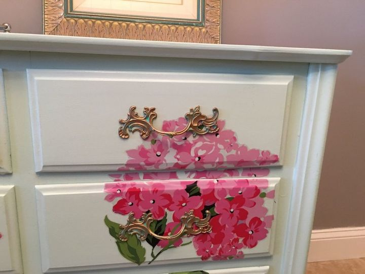 French Provincial Dresser Goes From Trash To Treasure