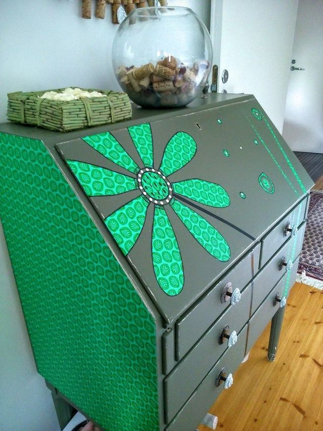 easy writing desk project, crafts