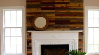 , Fireplace at our rental property
