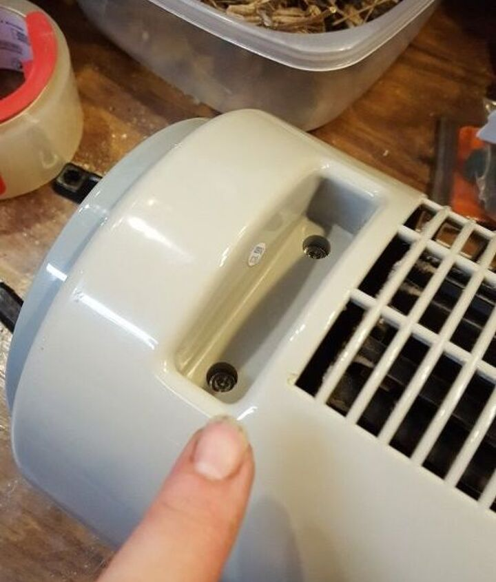clean and lube your tower fan to keep it running, appliances, cleaning tips, home maintenance repairs