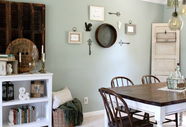 Diy Antiqued Vintage Door Tutorial Dining Room Ideas Home Decor Repurposing Upcycling