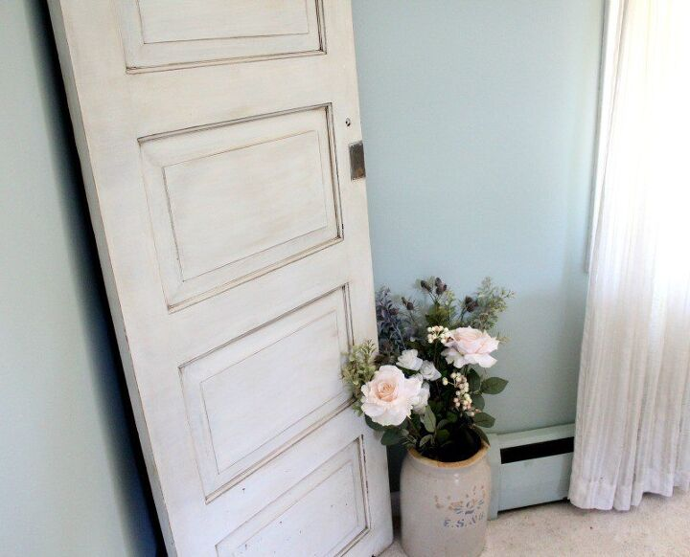 DIY Antiqued Vintage Door {Tutorial} | Hometalk