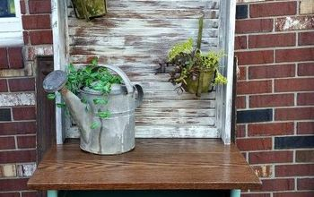 Upcycled Potting Station/Art Desk