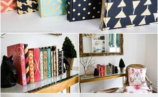painting stenciling decorative books, chalk paint, crafts, painting