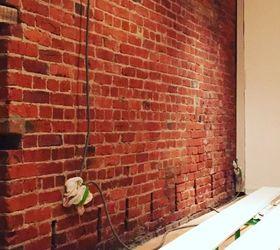 exposing cleaning a 100 year old brick wall hometalk rh hometalk com Brick Walls Inside the Home DIY Exposed Brick Wall
