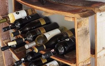 Easy Wine Stave Wine Rack