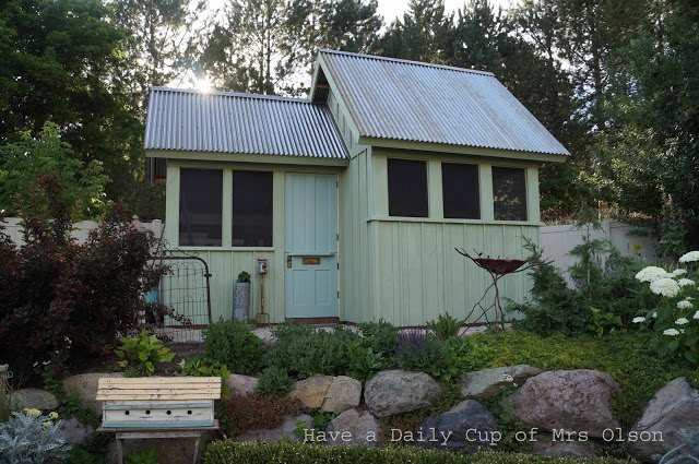 building my she shed, outdoor living, painting, woodworking projects