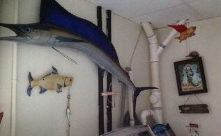 q can you paint pvc plumbing in laundry room , laundry rooms, painting, plumbing