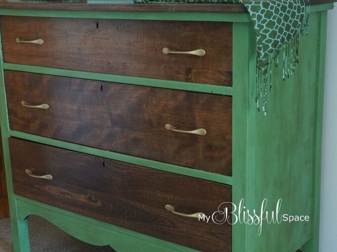 chalk paint dresser makeover, chalk paint, how to, painted furniture