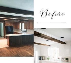 Rustic Farmhouse Kitchen Makeover, Kitchen Backsplash, Kitchen Cabinets,  Kitchen Design, Paint Colors