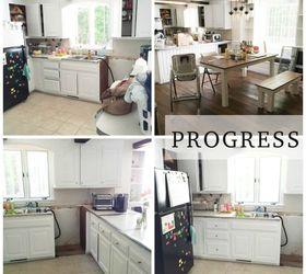 Superieur Rustic Farmhouse Kitchen Makeover, Kitchen Backsplash, Kitchen Cabinets,  Kitchen Design, Paint Colors