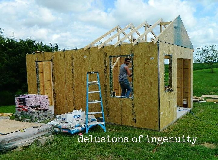 building the garden shed outdoor living woodworking projects