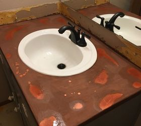 Copper Countertops Under 20 What , Bathroom Ideas, Concrete Countertops,  Countertops, How To