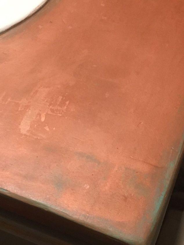 copper countertops under 20 what , bathroom ideas, concrete countertops, countertops, how to, painting