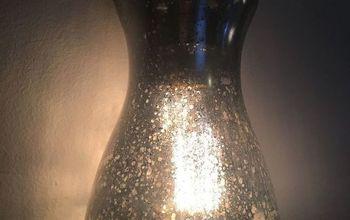 Mercury Glass Lamp Pendant