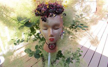 Styrofoam Garden Pot People-
