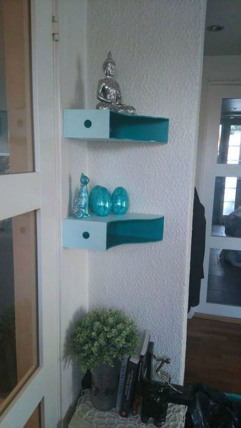 s 17 surprising shelving ideas you would never have thought of, shelving ideas, Place magazine holders in corners