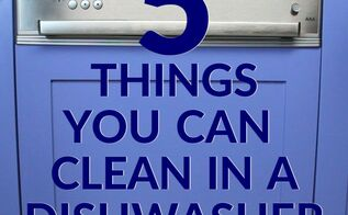 all the surprising things you should clean in a dishwasher, home decor cleaning, house cleaning, repurposing upcycling