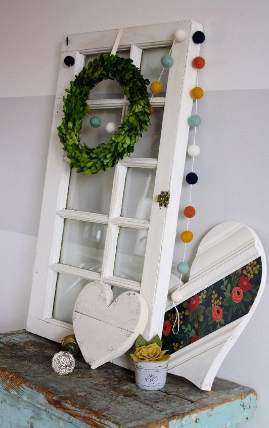 farmhouse window frame, rustic furniture, window treatments
